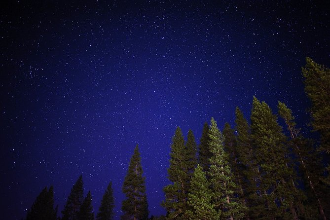 Stargazing in Sequoia National Park