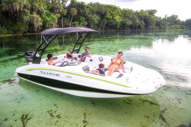 4-hour boat rental with Aquarius Boat Rental Miami (gas not included)