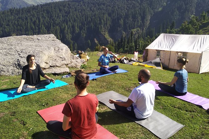 4-Day Private Yoga Trekking in The Indian Himalayas in Manali