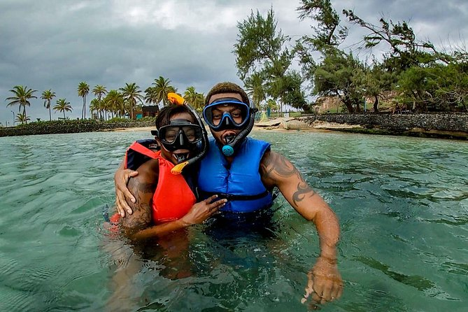 I try to make the tour a special experience for everyone, even with goofy snorkels--especially with goofy snorkels!