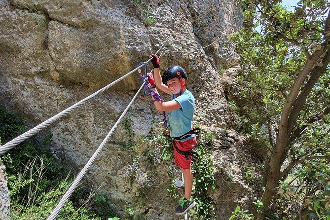 Climbing Via Ferrata beginners