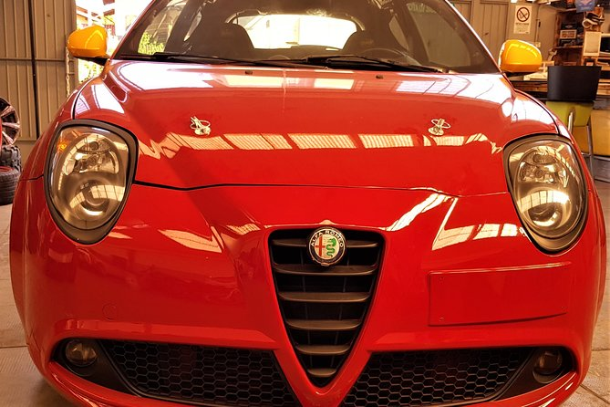 Test Drive Alfa Romeo MiTo Race Car on a Race Track including video