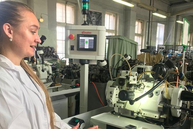 Raketa Watch Factory Tour in Peterhof with Transfer and Pickup