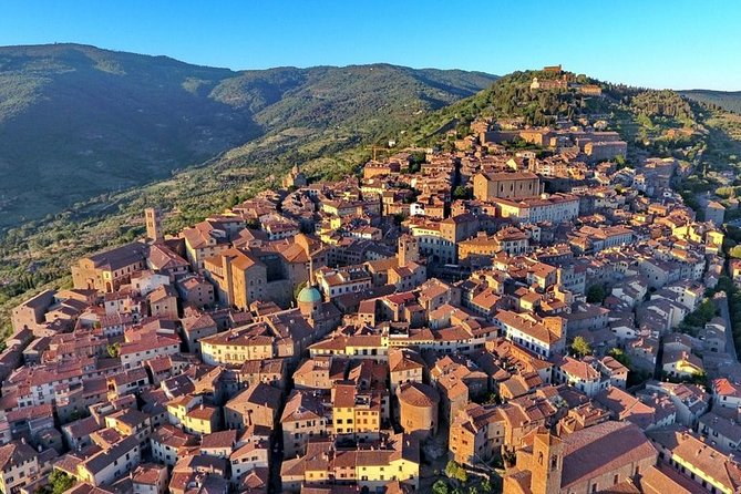 ROME LUXURY TOUR: Cortona Private tour from Rome