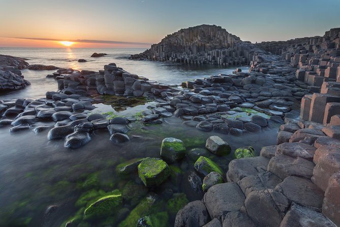 Giants Causeway, Rope Bridge, Carrickfergus Castle and Dark Hedges Tour