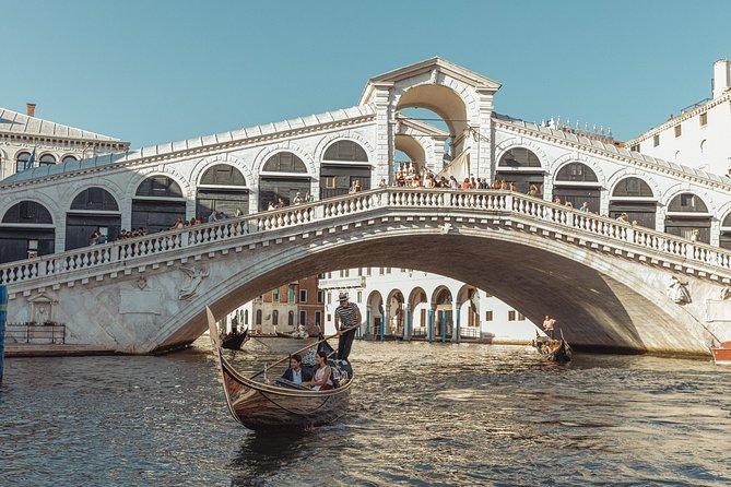 Bacino Orseolo Rialto private gondola ride