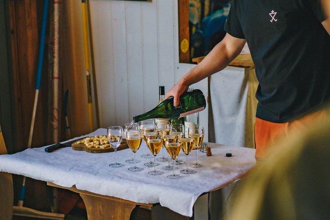 Cider tasting at Alde cider