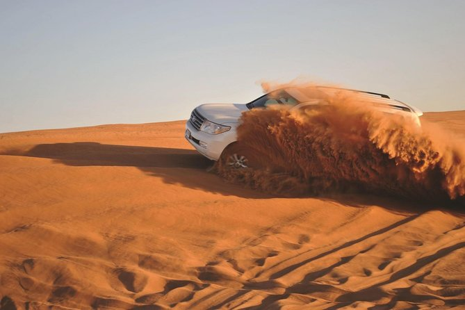 Private Red Dunes Desert Safari Only With Sand Boarding