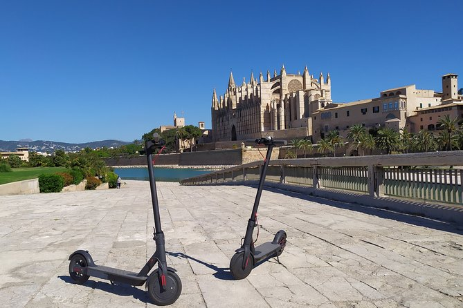 Electric kick scooter rental in Palma de Mallorca