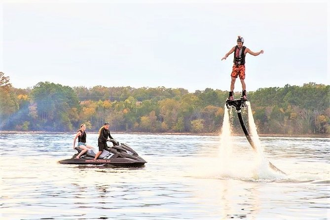 1-Hour Nashville FlyBoard at Percy Priest Lake (1-2 People)