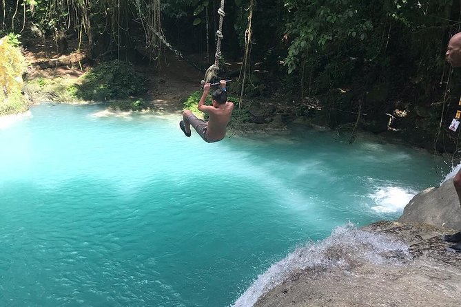 Private Blue Hole, Tubing and River rafting combo from Ocho Rios
