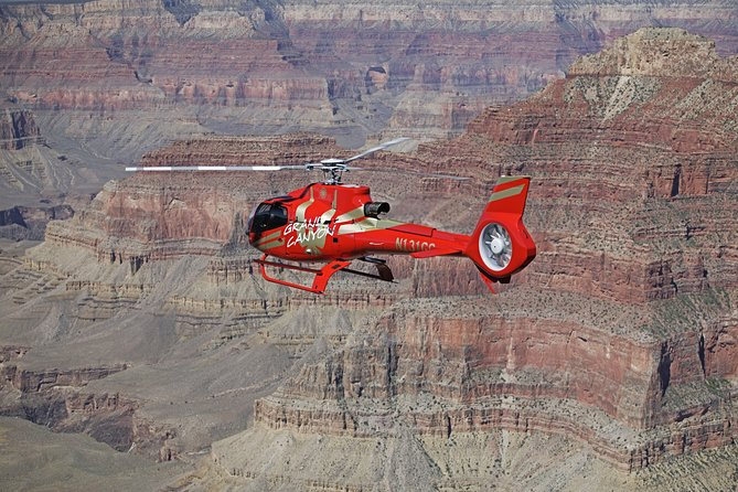 Ace of Adventure: Aerial Tour of the Grand Canyon's West Rim by Helicopter