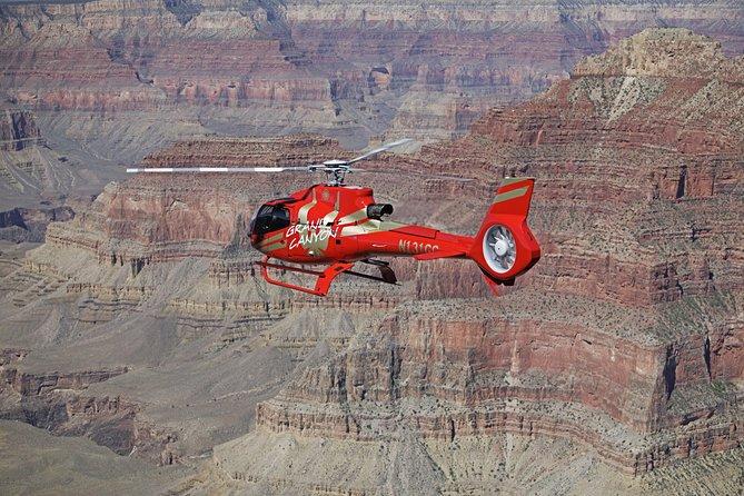 Vol de 25 ou 45minutes en hélicoptère au-dessus du Parc national du Grand Canyon