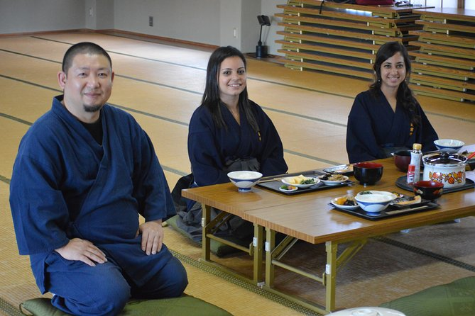 Immersive Samurai and Temple Stay Experience