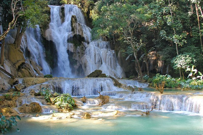 A Relaxing Day at the Kuang Si Falls