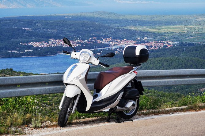 Exploring Hvar by 125cc scooter