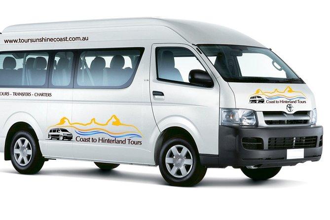 13 Seat Minibus | Brisbane Airport - Sunshine Coast Private Transfer