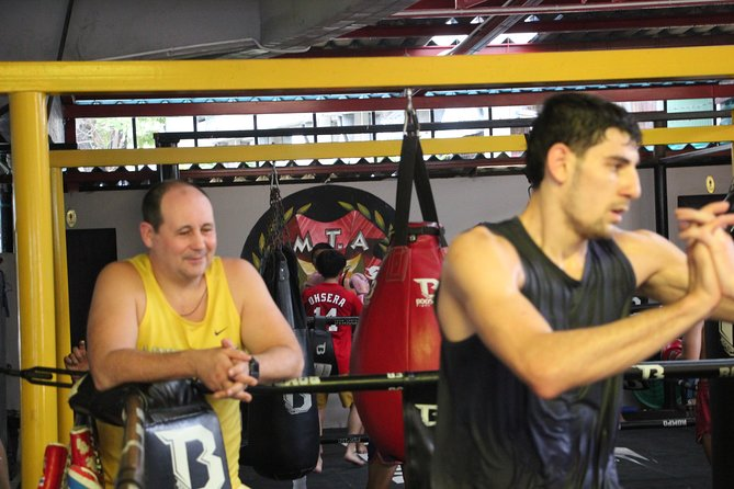 Anti Covid MUAY THAI FITNESS TRANING 1 session