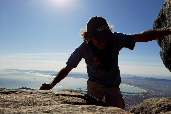 Hike Table Mountain via Kloof Corner Ridge morning tour