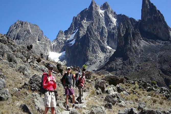 5-Day Mount Kenya Trekking Tour via Sirimon Route