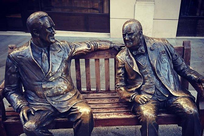 Winston Churchill's London At War. A Private Walk Through Britain's Darkest Hour