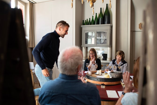 Champagne Tasting Class and Lunch near Epernay