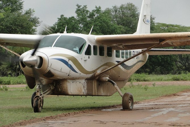Zanzibar Scenic Flight: Departure from Kiwengwa Beach Zanzibar