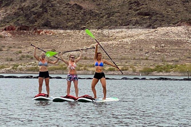 Standup Padddleboard Yoga at Lake Mead