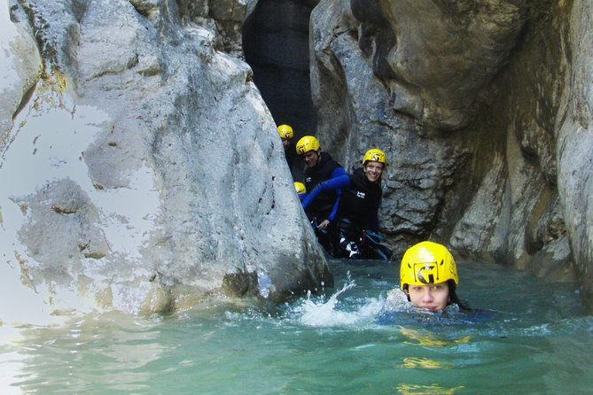 Beginners Canyoning in Gloces Canyon in the Pyrenees