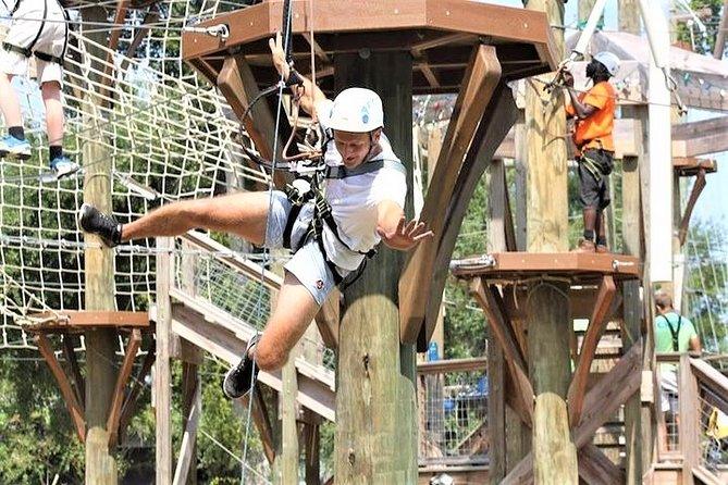 Wild Blue Ropes Adventure Park Admission Ticket