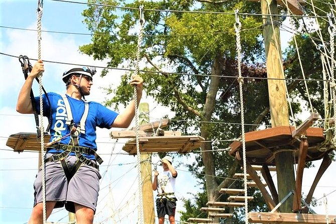 Wild Blue Ropes Adventure Park Admission Ticket