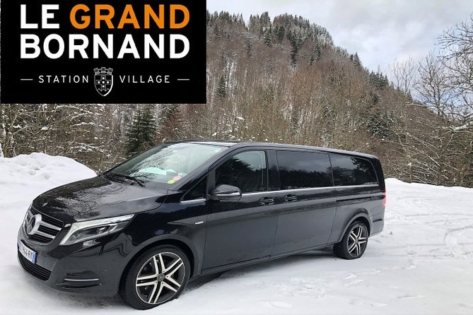 Private Transfer from Geneva Airport to Le-Grand-Bornand