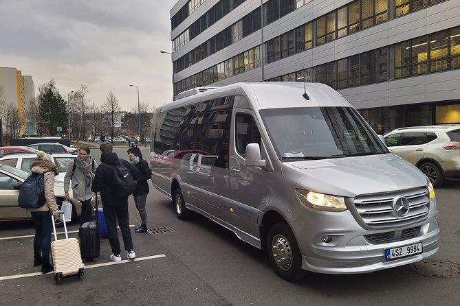 Private Mini Coach Transfer from Prague to Salzburg