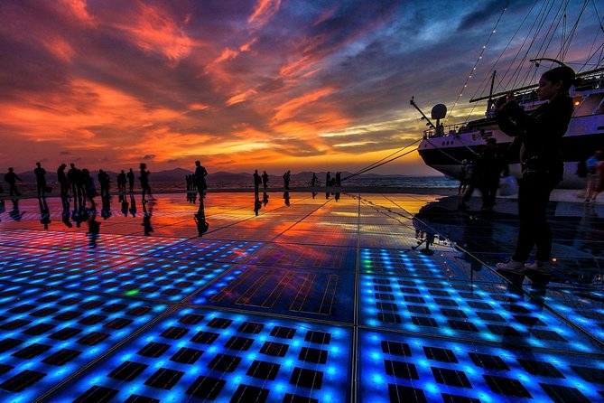 ZADAR- The most beautiful sunset in the world