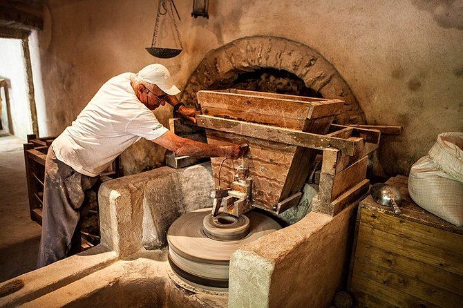 Guided tour in Talanta Watermill & Liotrivi Historical Estate with tasting &meal