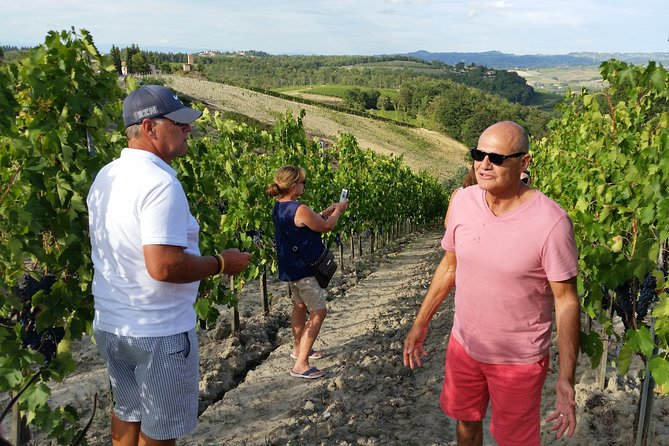 Vespers at San Miniato Al Monte when returning from a wine tour in the Chianti
