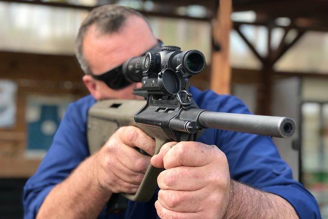 Kiev Gun Shooting Range Experience