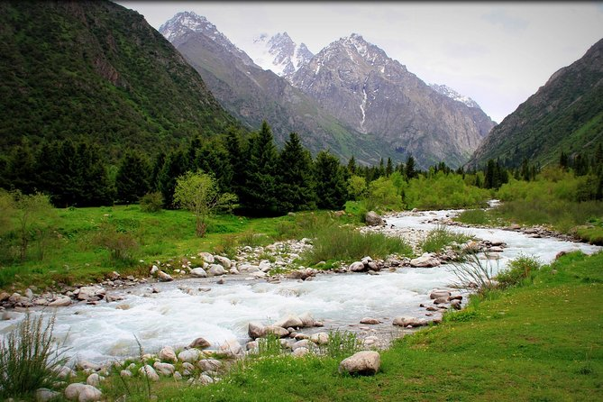 Hiking in Ala Archa National Park
