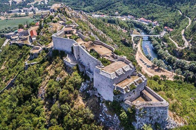 Roški waterfall and Knin fortress