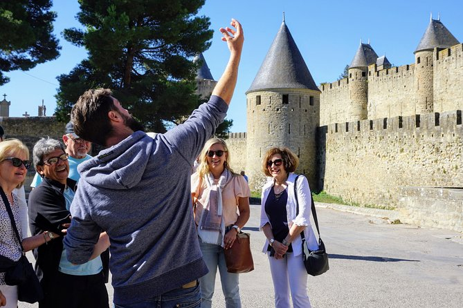 Private guided tour of the city of Carcassonne