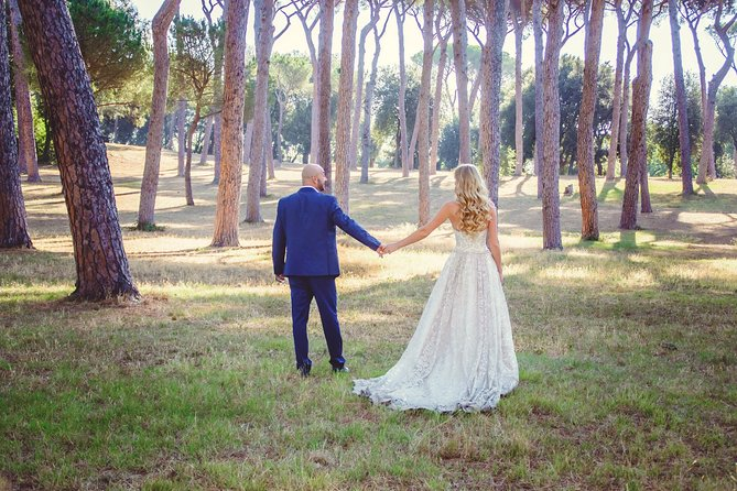 Photo shoot on the Ancient Appian Way