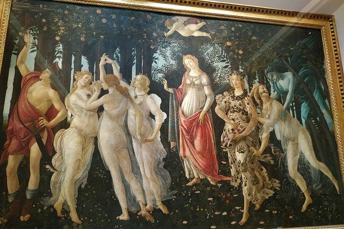 Combo: Skip the Line Accademia, Uffizi and Walking Tour.