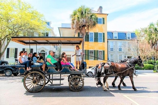 Daytime Horse-Drawn Carriage Tour of Historic Charleston