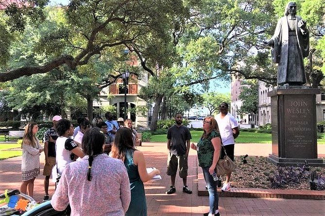 Welcome to Savannah Guided Walking Tour