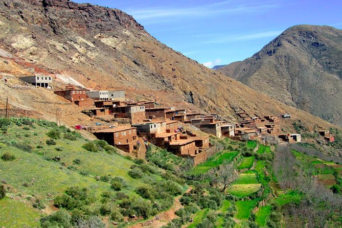 Marrakech To Agafay Desert & Atlas Mountains with Camel Ride