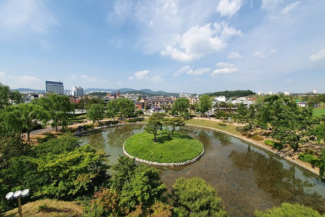 Half-Day Private Tour to Suwon Hwasung Historic Area