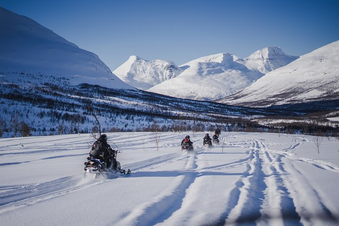 Snowmobiling & Ice Domes Guided Tour