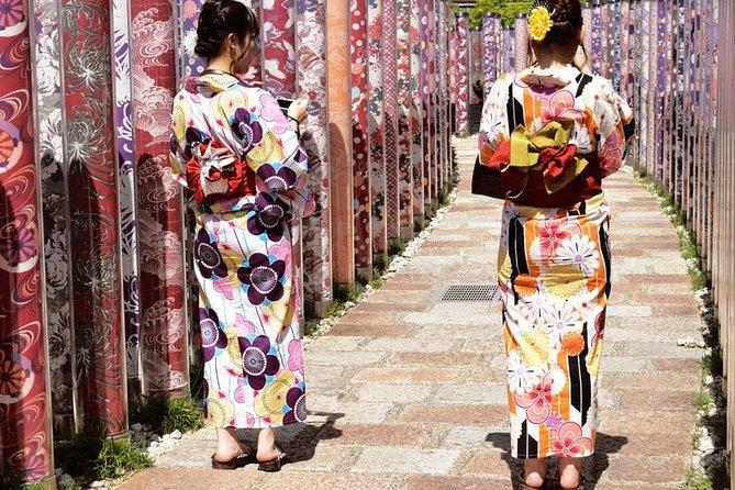 Kimono Dress Experience in Arashiyama with Door to Door Pick Up from hotel