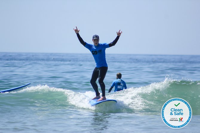 The Surf Instructor in Costa da Caparica