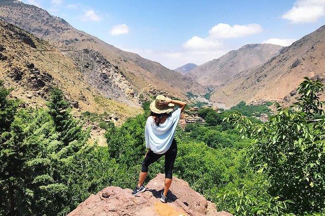 From Marrakech: Ourika Valley & Atlas Mountains Day Tour
